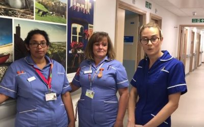 We love working with the NHS