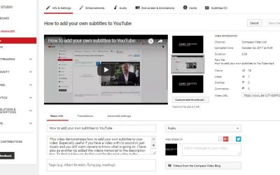 Video Marketing – Golden rules of adding your corporate video to YouTube