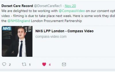 Compass Video win video tender to work with the NHS