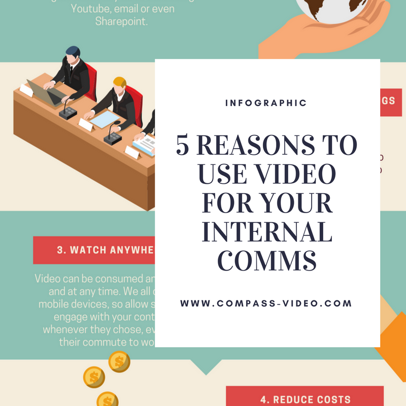 5 reasons to use video for your internal comms