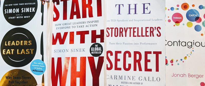 Which business storytelling books are we reading in 2018?