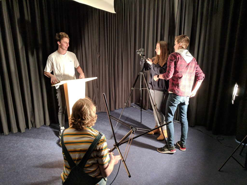 School Promotional video Theatre studies