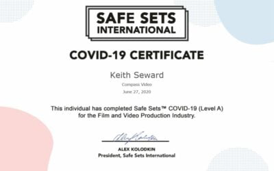 COVID 19 UPDATE Safe Sets™️ Certificate